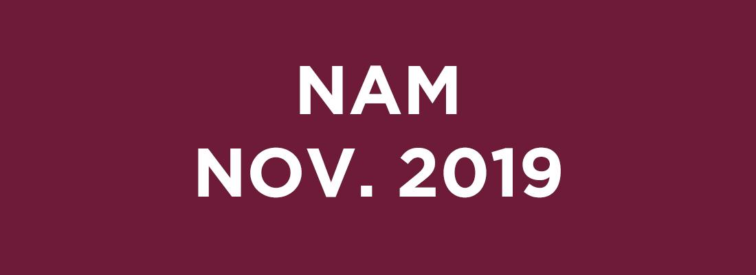 NAM Novembre 2019