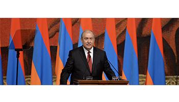 L'UGAB félicite Armen Sarkissian pour son investiture comme nouveau président de la République d'Arménie