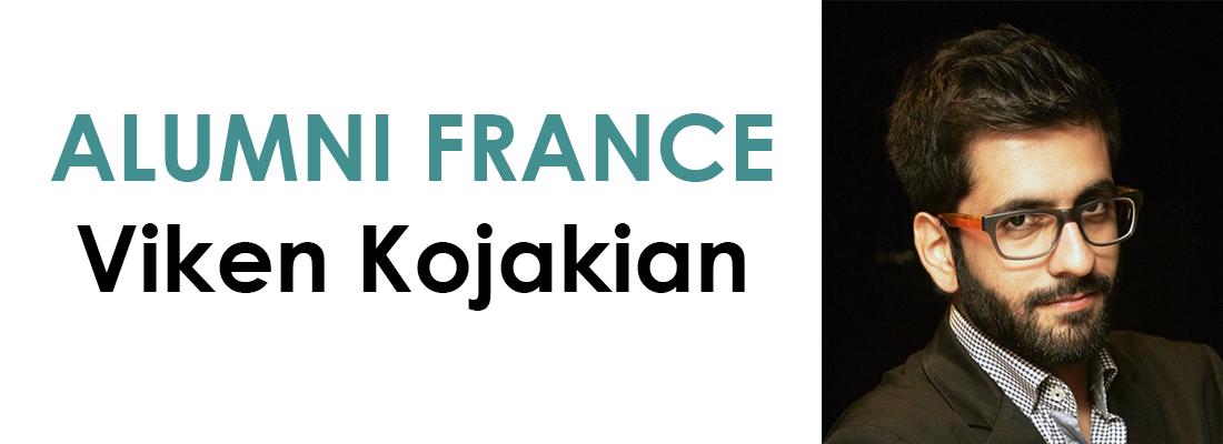 Portrait d'un Alumni : Viken Kojakian