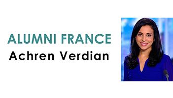 Portrait d'une Alumni : Achren Verdian