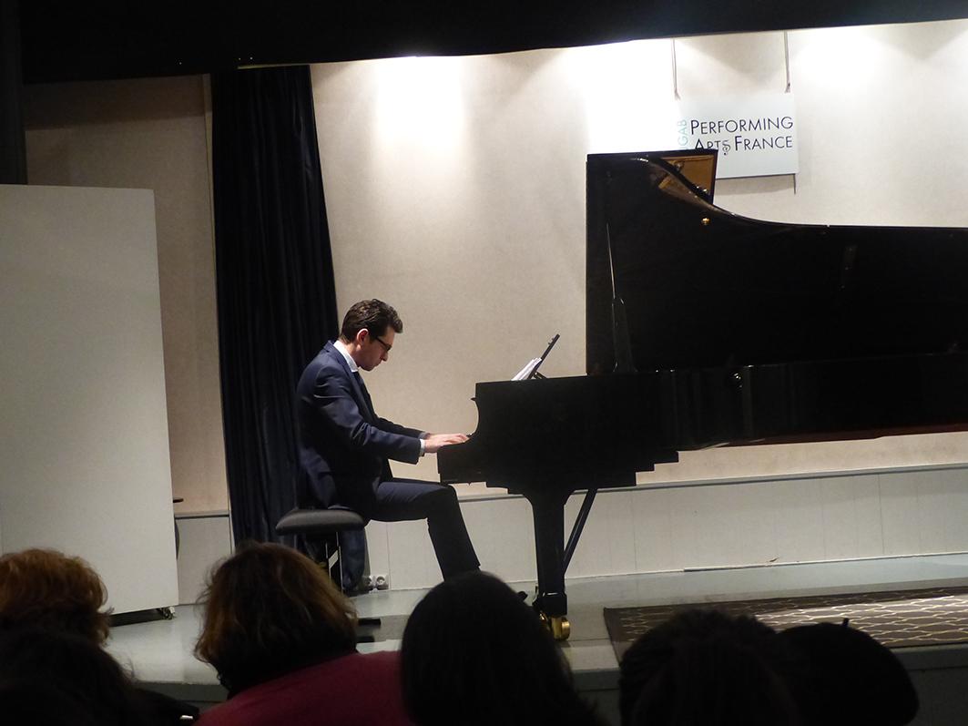 Troisième scène ouverte avec Varazdat Khatchatryan – Février 2018