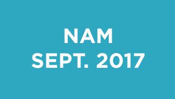 NAM Septembre 2017