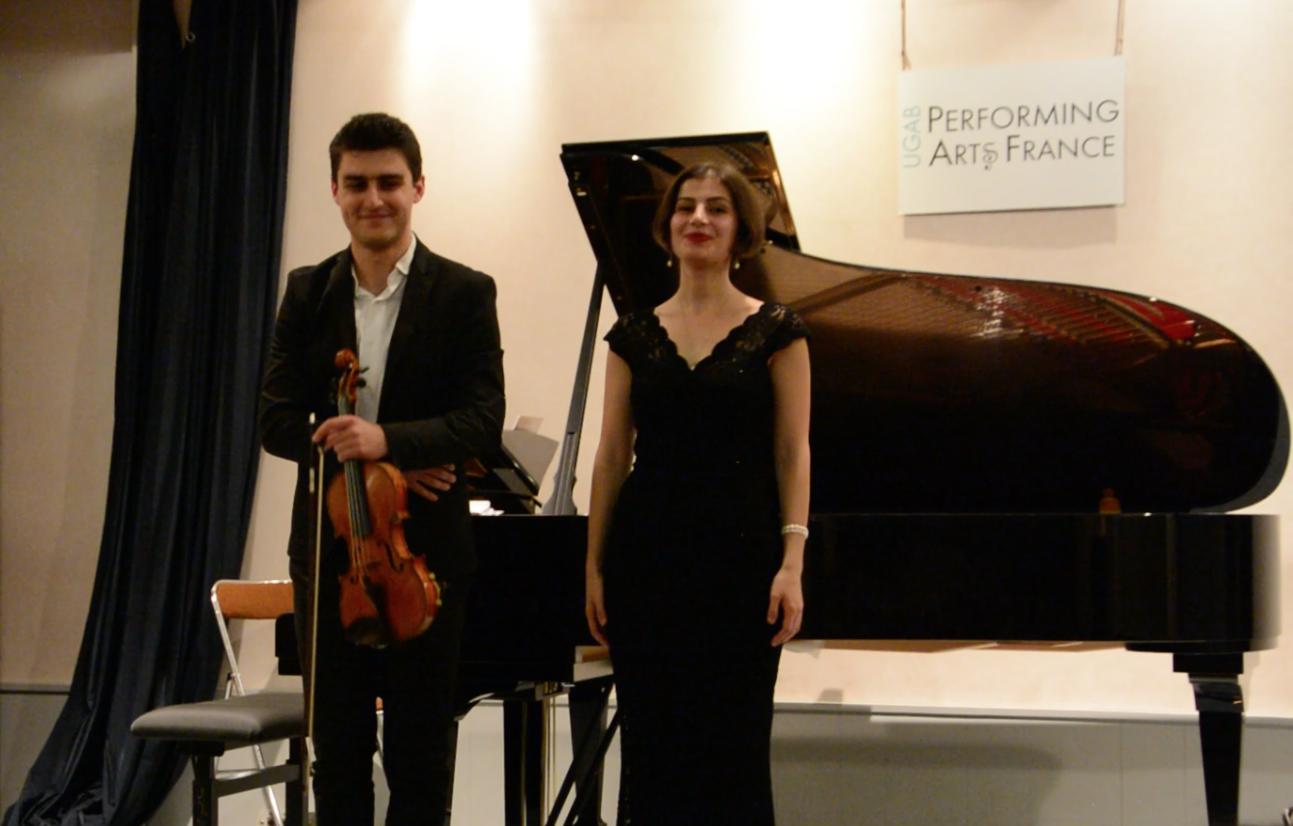 Première scène ouverte avec Hrayr Karapetyan et Hasmik Manukyan – Octobre 2017