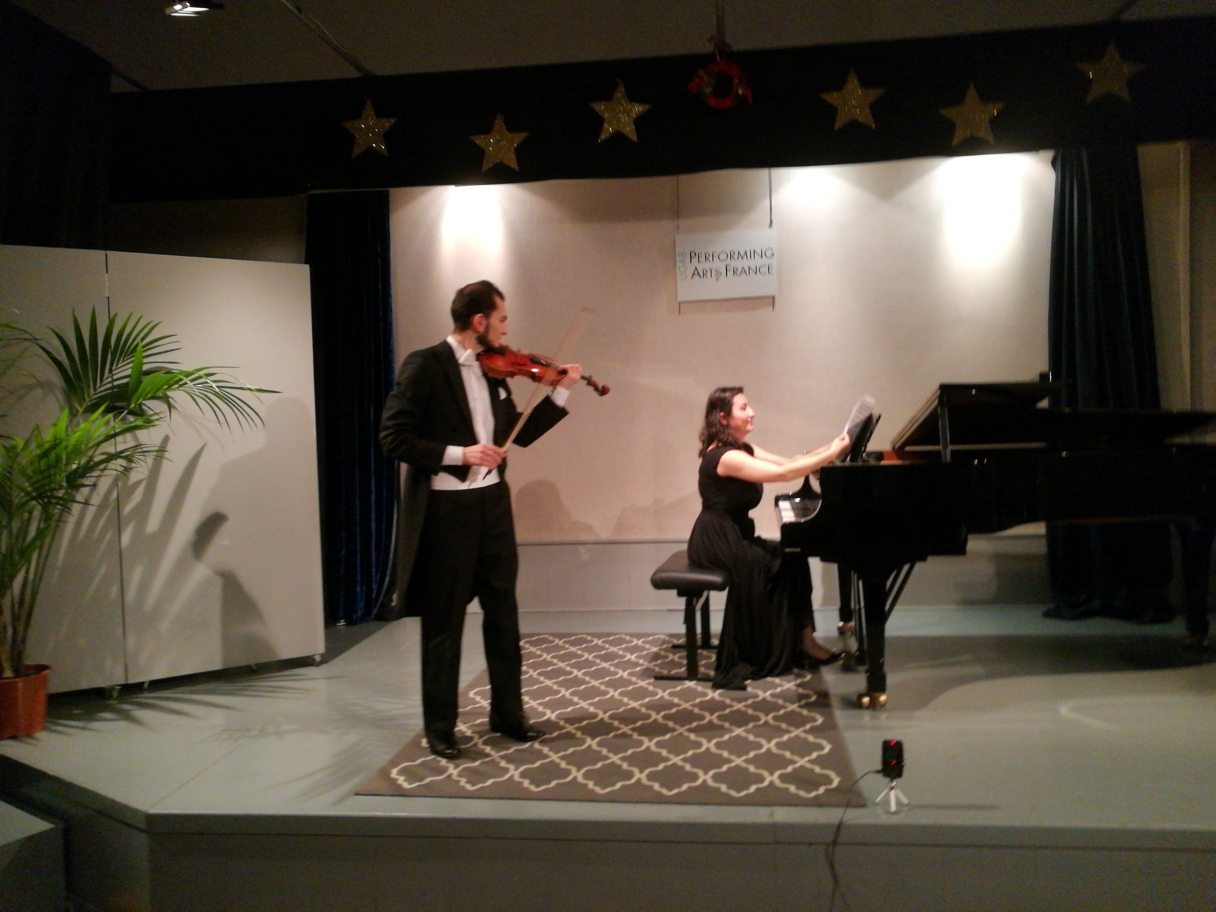 Deuxième scène ouverte avec Aida Yesayan et Feliks Harutyunyan – Décembre 2017
