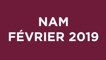 NAM Février 2019