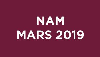 NAM Mars 2019