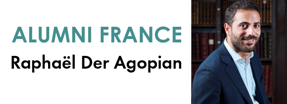 Portrait d'un alumni : Raphaël Der Agopian
