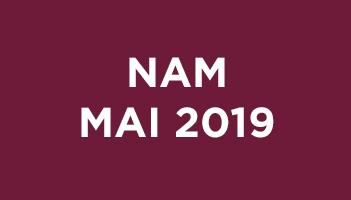 NAM Mai 2019
