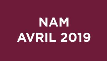NAM Avril 2019