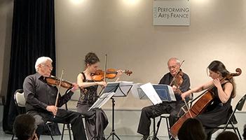 Quatuor Komitas d'Erevan – Mai 2019