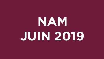 NAM Juin 2019