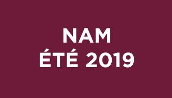 NAM Été 2019