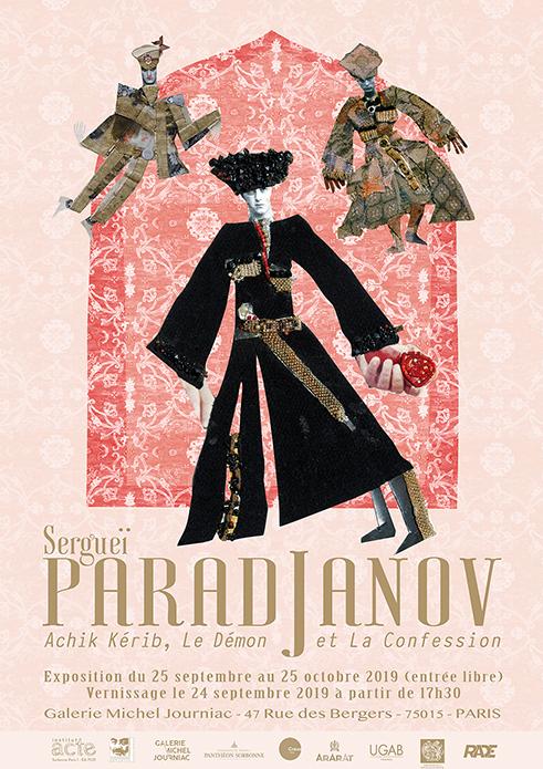 AfficheParadjanov-Gal.Journiac-25septembre_25octobre19
