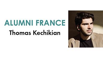 Portrait d'un alumni : Thomas Kechikian