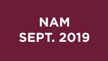 NAM Septembre 2019