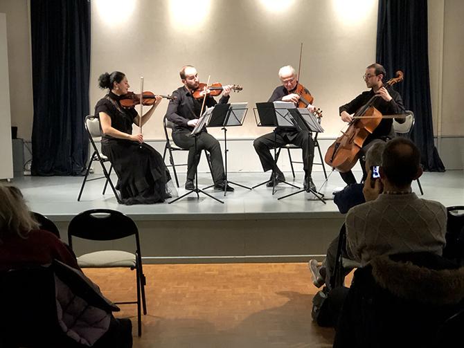 Armenian String Quartet – Janvier 2020