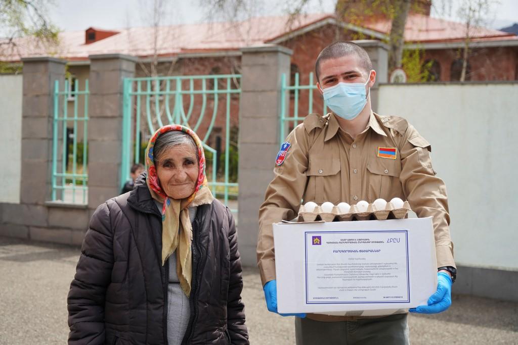 Press Release Photo - AGBU-COVID-19-Relief-Effort-Armenia