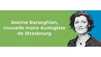 Jeanne Barseghian, élue nouvelle maire écologiste de Strasbourg