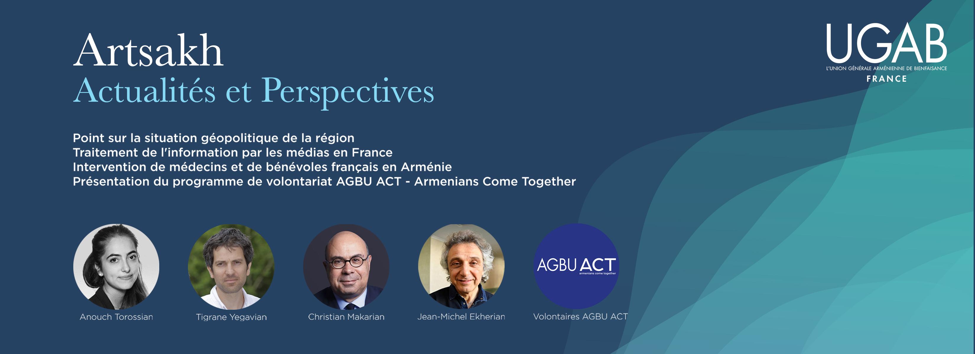 Événement live : Artsakh – Actualités et Perspectives